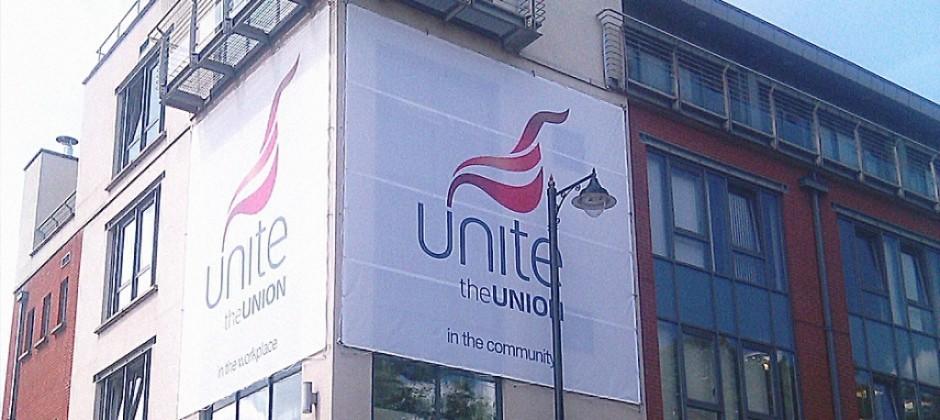 Unite Banner / Building Wrap